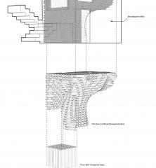 drawing: INSECTARIUM: insect + design research facility, by actionfindcopypaste and Kaltenbach Lab