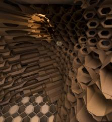 interior view: INSECTARIUM: design + insect research facility, by actionfindcopypaste and Kaltenbach Lab